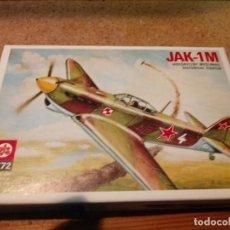 Maquetas: MAQUETA DE AVION JAK - 1M ESCALA 1/72. Lote 184078805