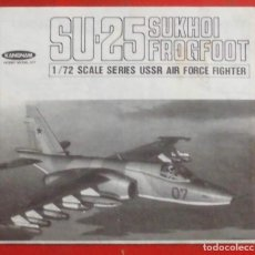 Maquetas: INSTRUCCIONES DE MONTAJE DEL SUKHOI SU-25 DE KANGNAM ESCALA 1/72. Lote 184155096