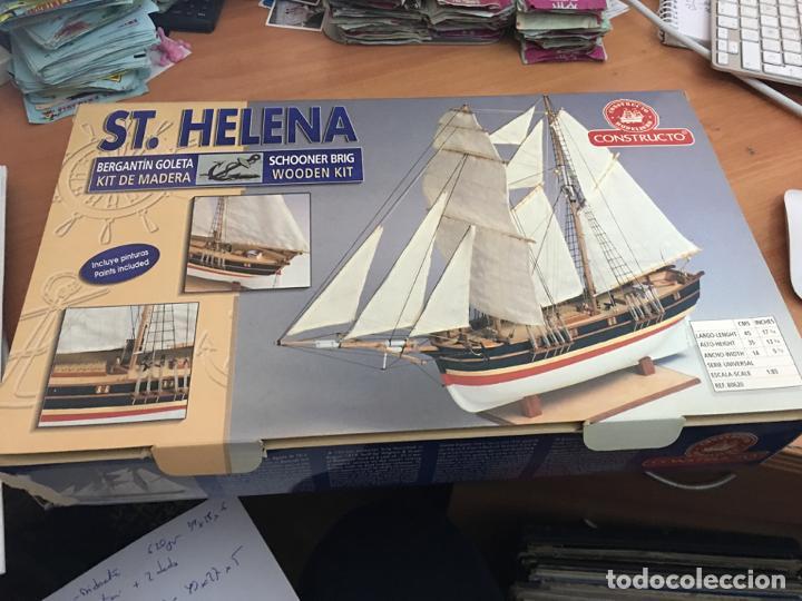 ST. HELENA (MODELISMO CONSTRUCTO) (JU-2) (Juguetes - Modelismo y Radiocontrol - Maquetas - Barcos)