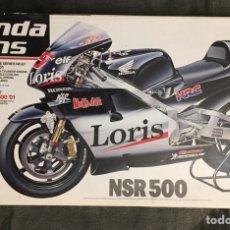 Maquetas: HONDA PONS NSR 500 '01 1:12 TAMIYA 14087 CAPIROSSI BARROS MAQUETA MOTO GP. Lote 184299701