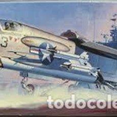 Maquetas: HASEGAWA - LING TEMCO VOUGHT F-8E CRUSADER 1/72 710. Lote 184556510
