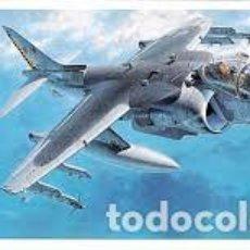 Maquettes: HASEGAWA - AV-8B HARRIER II PLUS 1/72 D24. Lote 184556953