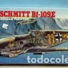 Maquetas: ACADEMY - MESSERSCHMITT BF-109E 1/72 2133. Lote 184585645