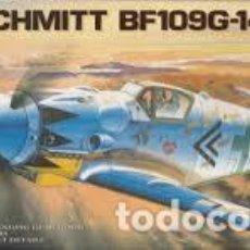 Maquetas: ACADEMY - MESSERSCHMITT BF-109G 14 1/72 1653. Lote 184585796