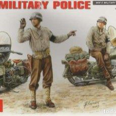 Maquetas: U.S. MILITARY POLICE. MINIART. 1/35. REF. 35085. Lote 184610502