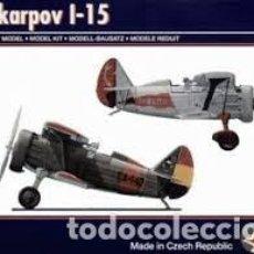 Maquetas: PAVLA - POLIKARPOV I-15 1/72 72047. Lote 184670645