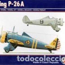 Maquetas: PAVLA - BOEING P-26A 1/72 72046. Lote 184670663