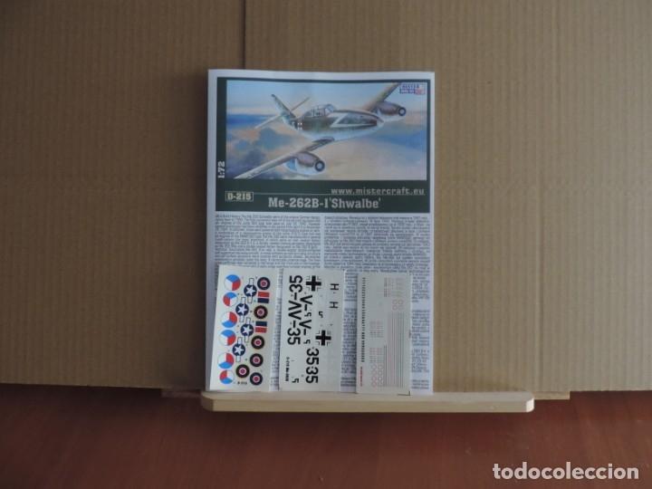 Maquetas: Maqueta - Mistercraft D-215 Me-262B-1a Doppelsitzsiger 1/72 - Foto 2 - 184709593