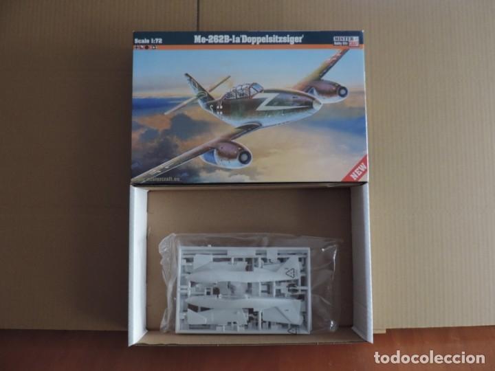 MAQUETA - MISTERCRAFT D-215 ME-262B-1A DOPPELSITZSIGER 1/72 (Juguetes - Modelismo y Radio Control - Maquetas - Aviones y Helicópteros)
