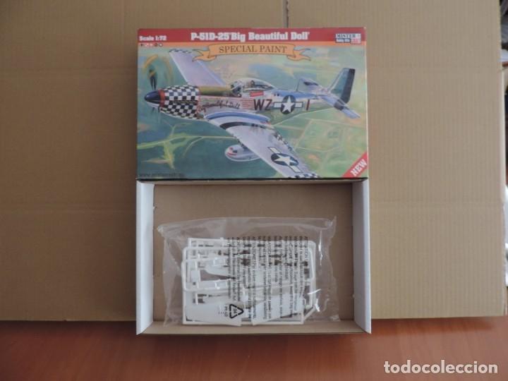 MAQUETA - MISTERCRAFT D-270 P-51D-25 BIG BEAUTIFUL DOLL 1/72 (Juguetes - Modelismo y Radio Control - Maquetas - Aviones y Helicópteros)