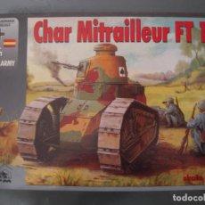 Maquettes: CHAR MITRALLEUR FT 17 1/35 RPM. Lote 184848363