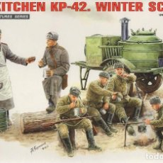 Maquetas: FIELD KITCHEN KP-42. WINTER SCENERY. MINIART. 1/35. REF. 35098. Lote 184902831
