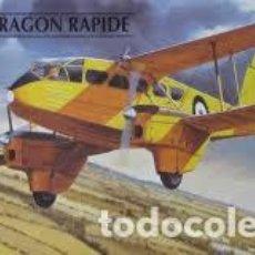 Maquetas: HELLER - DH 89 DRAGON RAPIDE 1/72 80345. Lote 185756983