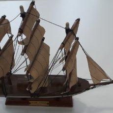 Maquetas: MAQUETA DE BARCO VELERO ESPAÑOL SIGLO XVII. Lote 184386693