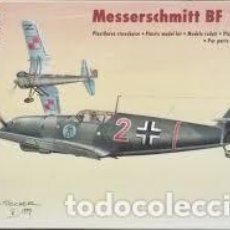Maquetas: SWORD - MESSERSCHMITT BF 109 D 1/72 72005. Lote 185930802