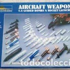 Maquetas: ZHENGDEFU - AIRCRAFT WEAPONS U.S GUIDED BOMBS & ROCKET LAUNCHERS 1/48 319 . Lote 185936035