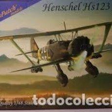 Maquetas: GAS PACH MODELS - HENSCHEL HS 123 A1 1/48 48095. Lote 185937201