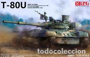 MAQUETA 1/35 - T-80U MAIN BATTLE TANK RPG-MODEL - NO. 35001 - 1:35 (Juguetes - Modelismo y Radiocontrol - Maquetas - Militar)