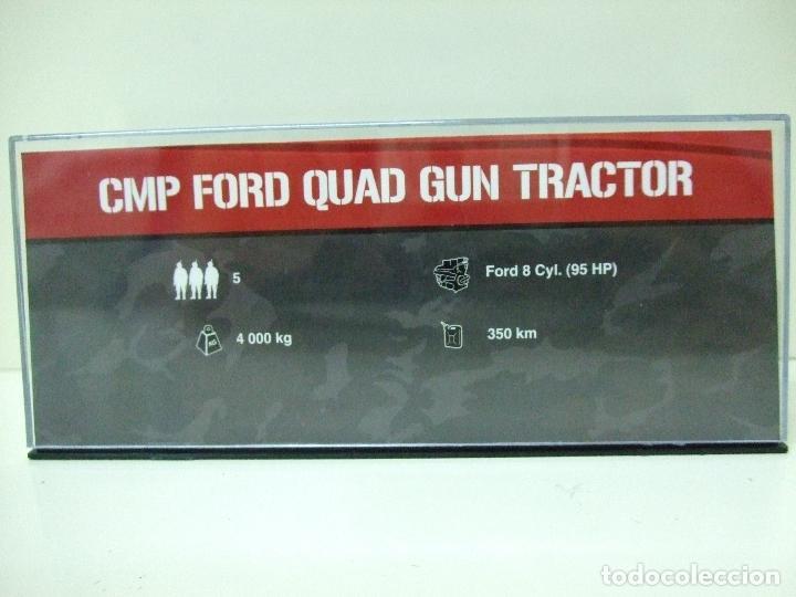 Maquetas: CMP FORD QUAD GUN TRACTOR - ALTAYA ESCALA 1:72 - VEHÍCULO BLINDADO CAMIÓN TANQUE CAÑÓN ARTILLERIA - Foto 5 - 186436161