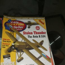 Maquetas: SCALE AVIATION MODELER. Lote 187148062