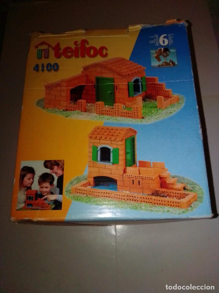 ANTIGUO JUEGO DE CONSTRUCCIÓN TEIFOC 4100 (Juguetes - Modelismo y Radiocontrol - Maquetas - Construcciones)