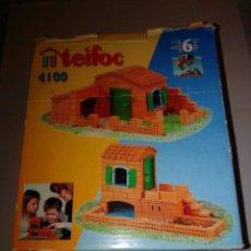 Maquetas: ANTIGUO JUEGO DE CONSTRUCCIÓN TEIFOC 4100. Lote 187438237