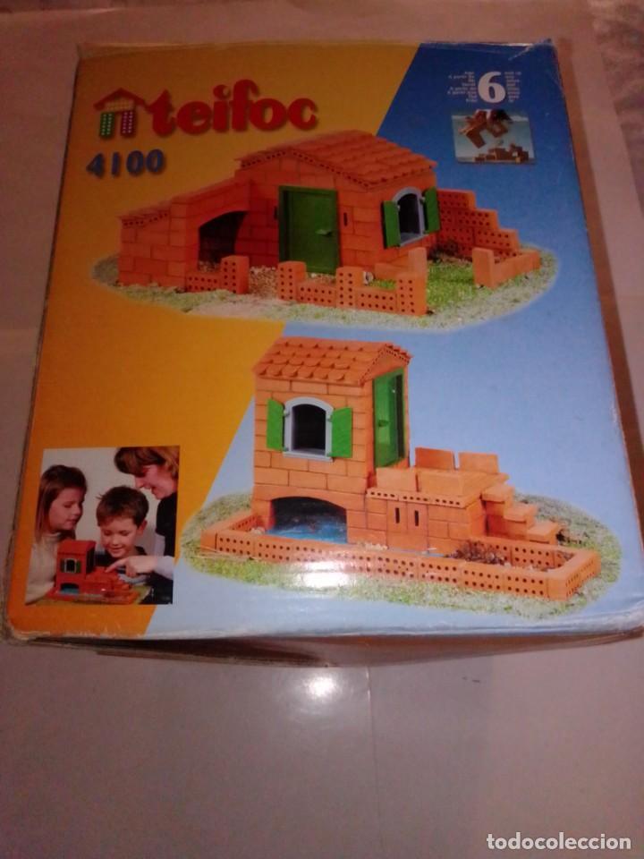 Maquetas: Antiguo juego de construcción Teifoc 4100 - Foto 4 - 187438237