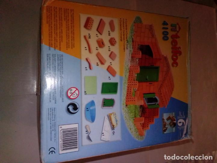 Maquetas: Antiguo juego de construcción Teifoc 4100 - Foto 5 - 187438237