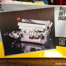 Maquetas: MOTOR BUGATTI 50 T ENGINE NUEVO A ESTRENAR - ESCALA 1/8 MARCA POCHER .. Lote 187534137