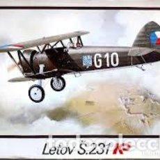 Maquetas: KP - LETOV S.231 1/72 23. Lote 187617185