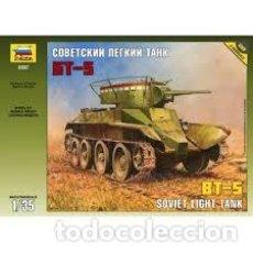 Maquetas: ZVEZDA - SOVIET LIGHT TANK BT-5 1/35 3507. Lote 187649465