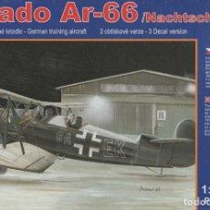 Maquetas: ARADO AR-66 NACHTSCHLACHT. RS MODELS. 1/72. REF. 92052. Lote 188403210