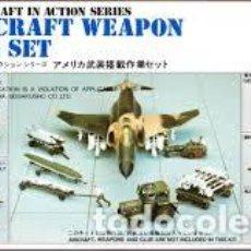 Maquetas: HASEGAWA - U.S. AIRCRAFT WEAPON LOADING SET 1/72 X72 5. Lote 188441687