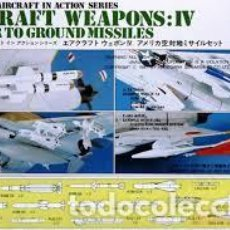 Maquetas: HASEGAWA - AIRCRAFT WEAPONS IV U.S. AIR TO GROUND MISSILES 1/72 X72 4. Lote 188441701