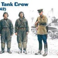 Maquetas: ICM - SOVIET TANK CREW 1/35 35181. Lote 188442412