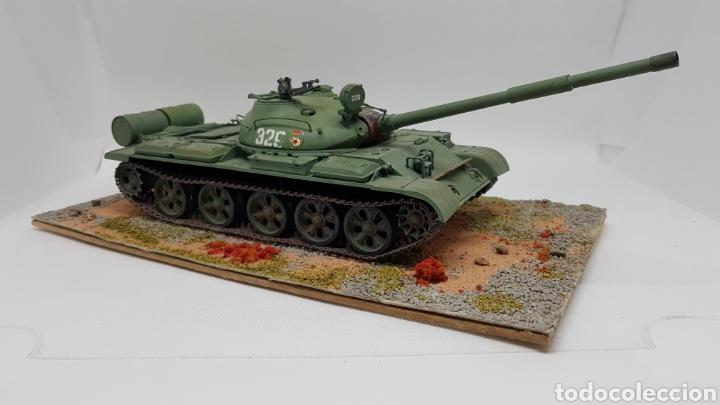 DIORAMA MAQUETA TANQUE RUSIA T 62 (Juguetes - Modelismo y Radiocontrol - Maquetas - Militar)