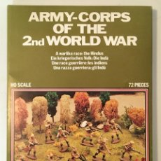 Maquetas: ATLANTIC. ARMY-CORPS OF THE 2ND WORLD WAR. H0 SCALE. 1570. Lote 188787577