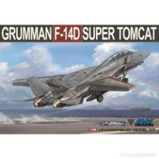 Maquetas: AMK88007 # 1:48 GRUMMAN F-14D TOMCAT. Lote 188797785