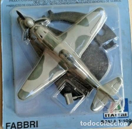 LOTE AVION DE METAL DE COLECCION FABBRI - ITALERI - YAKOLEV YAK 3 WWII RUSIA - ESCAL 1/100 (Juguetes - Modelismo y Radio Control - Maquetas - Aviones y Helicópteros)
