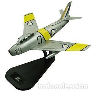 LOTE AVION NUEVO DE METAL DE COLECCION FABBRI - ITALERI - F 86 E SABRE - ESCAL 1/100 (Juguetes - Modelismo y Radio Control - Maquetas - Aviones y Helicópteros)