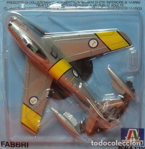 Maquetas: LOTE AVION NUEVO DE METAL DE COLECCION FABBRI - ITALERI - F 86 E SABRE - ESCAL 1/100 - Foto 2 - 189081245