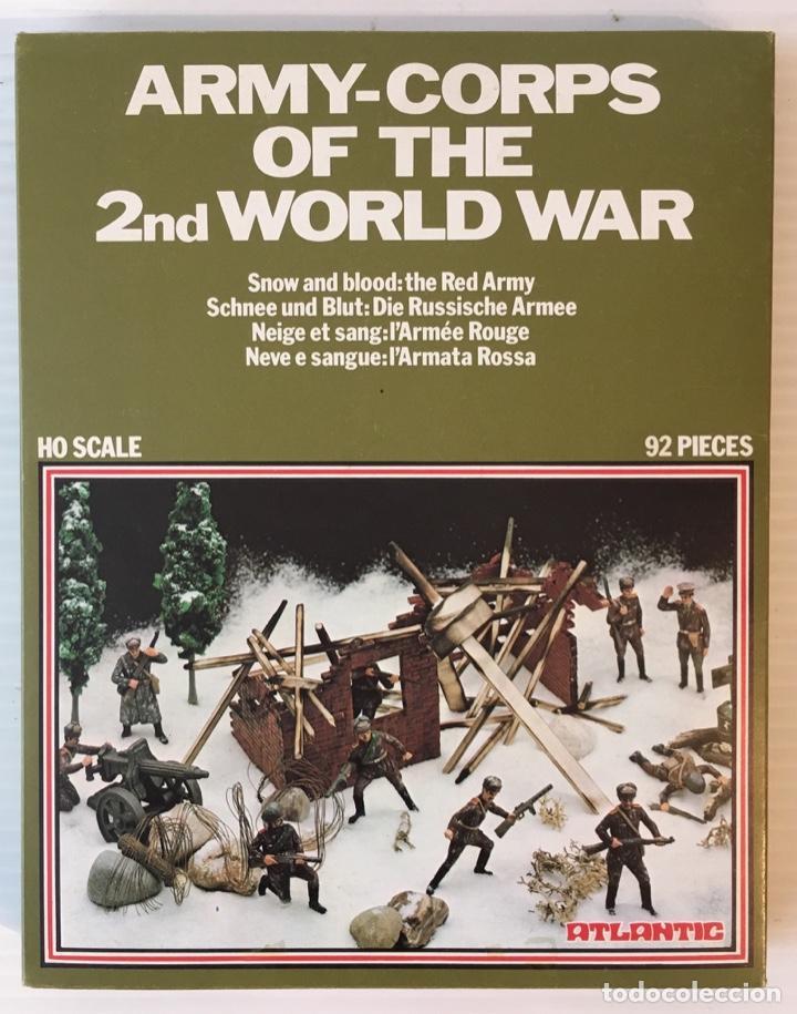 ATLANTIC. ARMY-CORPS OF THE 2ND WORLD WAR. SNOW AND BLOOD. H0. 1566 (Juguetes - Modelismo y Radiocontrol - Maquetas - Militar)