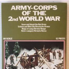 Maquetas: ATLANTIC. ARMY-CORPS OF THE 2ND WORLD WAR. SNOW AND BLOOD. H0. 1566. Lote 189096522
