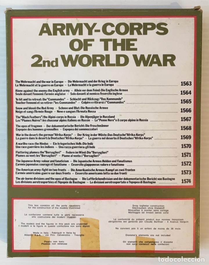 Maquetas: ATLANTIC. ARMY-CORPS OF THE 2nd WORLD WAR. SNOW AND BLOOD. H0. 1566 - Foto 3 - 189096522