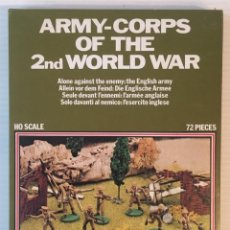 Maquetas: ATLANTIC. ARMY-CORPS OF THE 2ND WORLD WAR. ALONE AGAINST THE ENEMY. H0. 1564. PINTADOS.. Lote 189135103