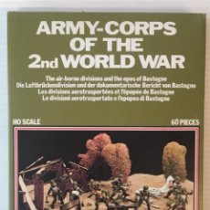 Maquetas: ATLANTIC. ARMY-CORPS OF THE 2ND WORLD WAR. THE AIR-BORNE DIVISIONS. H0. 1574. Lote 189139893