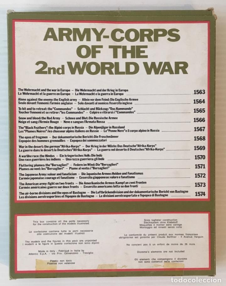 Maquetas: ATLANTIC. ARMY-CORPS OF THE 2nd WORLD WAR. THE AIR-BORNE DIVISIONS. H0. 1574 - Foto 3 - 189139893