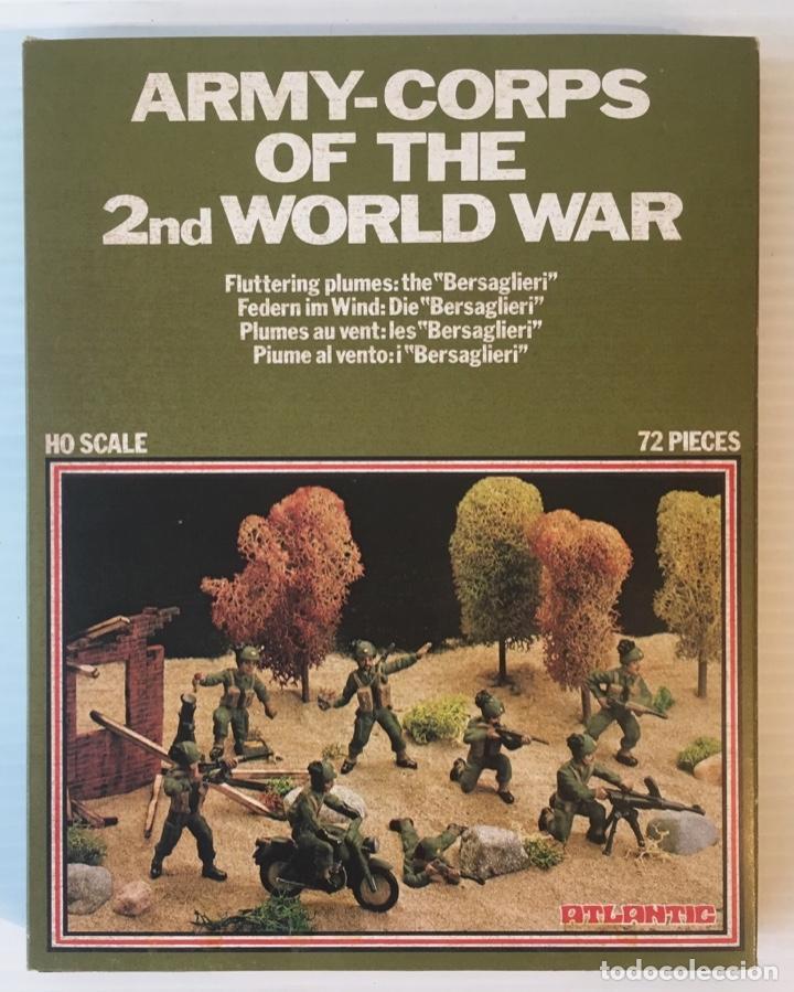 ATLANTIC. ARMY-CORPS OF THE 2ND WORLD WAR. FLUTTERING PLUMES. H0. 1571 (Juguetes - Modelismo y Radiocontrol - Maquetas - Militar)