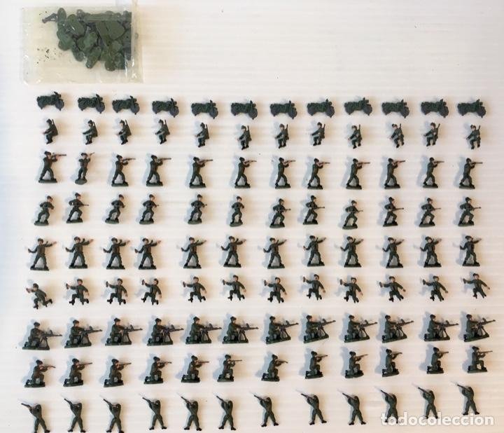 Maquetas: ATLANTIC. ARMY-CORPS OF THE 2nd WORLD WAR. FLUTTERING PLUMES. H0. 1571 - Foto 4 - 189145843