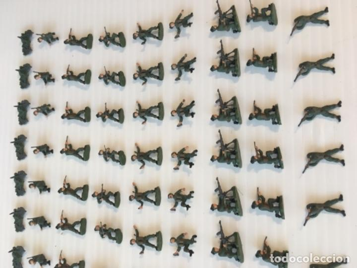 Maquetas: ATLANTIC. ARMY-CORPS OF THE 2nd WORLD WAR. FLUTTERING PLUMES. H0. 1571 - Foto 8 - 189145843